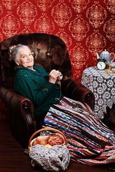 Free Senior Woman Stock Photo - 18713750