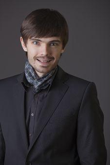 Happy Fashion Man Royalty Free Stock Photo