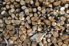 Free Stack Of Logs Royalty Free Stock Photo - 18715765