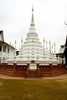 Free Many Tops Of White Pagoda Stock Images - 18717464
