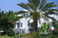 Free White Villa In Greece Stock Photo - 18717960