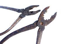 Free Old Rusty Tools, Pliers, Pincers Stock Photography - 18718732