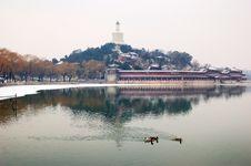 Free China Beijing  Beihai Park Royalty Free Stock Photo - 18718915