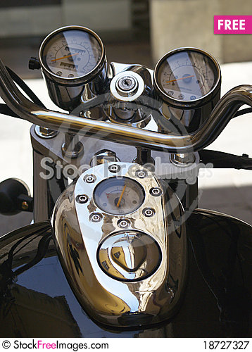 Free Motorcycle Detail Royalty Free Stock Photography - 18727327