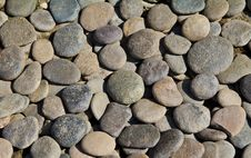 Free Pebble Stone Background Stock Photo - 18720040