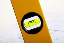 Free Upright Spirit Level Stock Photography - 18720222