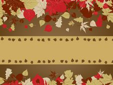 Free Art Autumn Vintage Background. EPS 8 Royalty Free Stock Images - 18720389