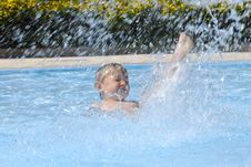 Free In The Pool Royalty Free Stock Photos - 18720478