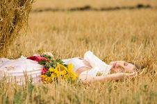 Free Woman In Field Stock Photos - 18720783