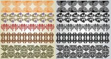 Free Art Nouveau Pattern Element Royalty Free Stock Images - 18720869