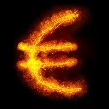 Free Fiery Euro Stock Photos - 18721723