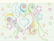 Free Love Doodle Stock Photos - 18722323