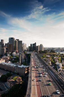 Free Sydney Stadtautobahn Royalty Free Stock Images - 18723159