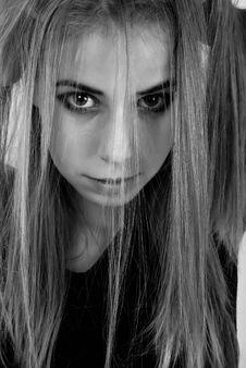 Free Girl Portrait Stock Image - 18723251
