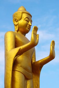 Statue Of The Buddha. Stock Photography
