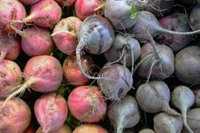 Free Garden Fresh Vegeatables Beets Royalty Free Stock Photography - 18724317