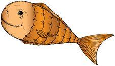 Free Cartoon Fish Stock Photography - 18724742