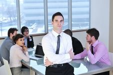 Free Business People At Meeting Stock Photos - 18725153