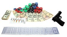 Free Gambling Stock Image - 18725221