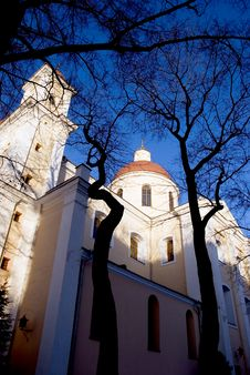 Free Orthodox Church In Lithuania Capital Vilnius Royalty Free Stock Images - 18725259