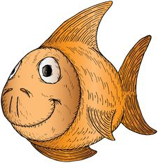 Free Cartoon Fish Stock Images - 18725564