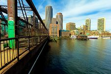Free Boston Financial District Royalty Free Stock Photography - 18727507