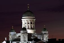 Free Finland: Helsinki By Night Stock Image - 18727591