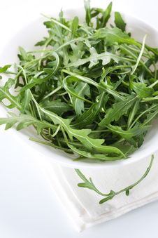 Free Rucola Fresh Salad Stock Photography - 18727862
