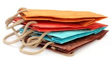 Free Color Paper Bags Royalty Free Stock Photo - 18729215