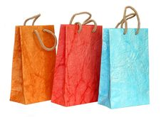Free Color Paper Bags Stock Photography - 18729242