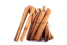 Free Pile Of Cinnamon Spice Quills Royalty Free Stock Photo - 18729375