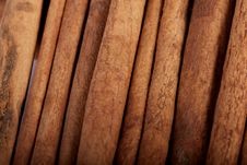 Pile Of Cinnamon Spice Quills Stock Photos