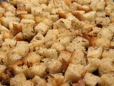 Free Croutons Royalty Free Stock Photo - 18729505