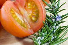 Free Tomato And Herb Stock Photo - 18729510