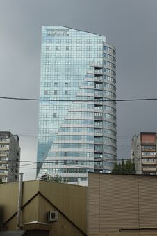 Free Korolyov Avenue During The Summer Rainfall. Royalty Free Stock Photo - 187291275