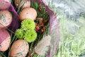 Free Easter Wreath Royalty Free Stock Photos - 18731188