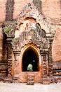 Free The Entrance To Dhammayangyi Temple, Bagan, Myanma Stock Image - 18732131