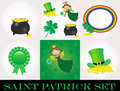 Free St Patrick Day Set Stock Images - 18734334