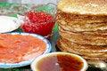 Free Pancakes Royalty Free Stock Photography - 18736587