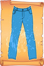 Free Label For Man S Jeans Royalty Free Stock Photography - 18739417