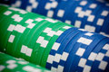 Free Poker Chips Close-up. Royalty Free Stock Photo - 18739855