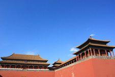Forbidden City, Beijing China Royalty Free Stock Photos