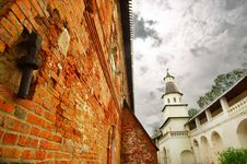 Free Wall In New Jerusalem Monastery Royalty Free Stock Images - 18730239