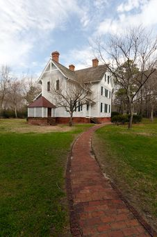 Free Currituck Light Keepers House Stock Photo - 18730240