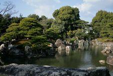 Free Japanese Garden Royalty Free Stock Image - 18730376
