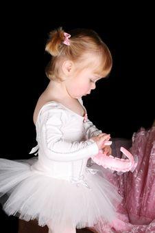 Free Little Ballerina Stock Photos - 18731053
