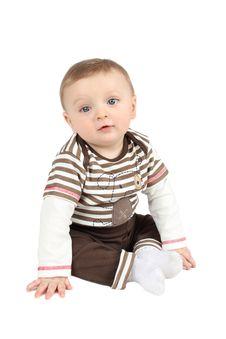 Free Innocent Baby Royalty Free Stock Photo - 18731255