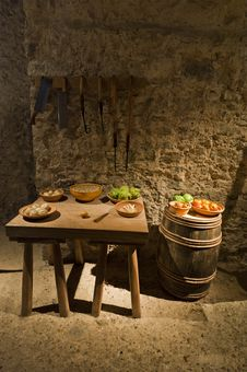 Free Dover Castle Kings Kitchen Stock Photos - 18731853