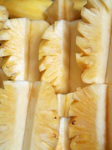 Free Nice Fresh Slice Of Pineapple (Vertical) Royalty Free Stock Image - 18732126