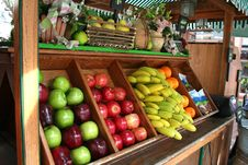 Free Fruit Stand Royalty Free Stock Photography - 18733147